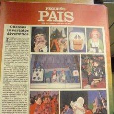 Cómics: PEQUEÑO PAIS Nº 287 (31/05/1987). SUPLEMENTO DOMINICAL. Lote 39753669