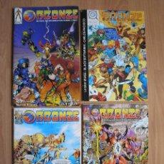 Cómics: BRONZE Nº 2, 3, 4 Y 5 - REVISTA DE COMICS DE LOS 90 - POSIBILIDAD DE ENTREGA EN MANO EN MADRID. Lote 40649935