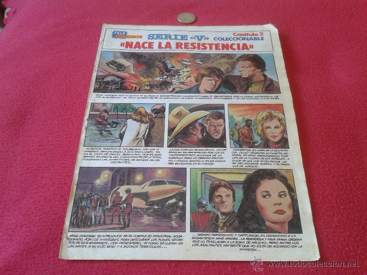 COLECCIONABLE SERIE V LOS LAGARTOS TELEINDISCRETA CAPITULO 2 NACE LA RESISTENCIA ESCASO Y DIFICIL (Tebeos y Comics - Suplementos de Prensa)