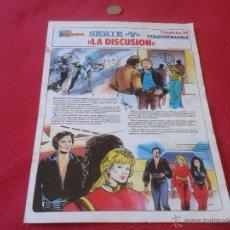 Cómics: COLECCIONABLE SERIE V LOS LAGARTOS REVISTA TELEINDISCRETA CAPITULO 14 LA DISCUSION ESCASO Y DIFICIL. Lote 40670615
