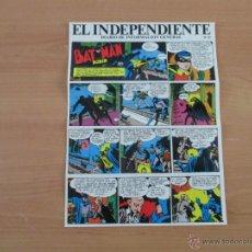 Cómics: BATMAN Y ROBIN.EL INDEPENDIENTE TIRA Nº 47 ADHESIVOS SIN USAR. Lote 42265623