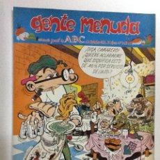 Cómics: GENTE MENUDA SEANARIO JUVENIL-ABC-1993-Nº 213. Lote 42284165