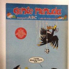 Cómics: GENTE MENUDA SEMANARIO JUVENIL-ABC-1993-N-º 203. Lote 42284220