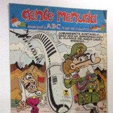 Cómics: GENTE MENUDA SEMANARIO JUVENIL-ABC-1993-N-179. Lote 42284334