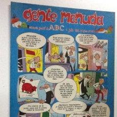 Cómics: GENTE MENUDA SEMANARIO JUVENIL-ABC-1993-Nº190. Lote 42284469