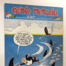 Cómics: GENTE MENUDA SEMANARIO JUVENIL-ABC-1993-Nº196. Lote 42284835