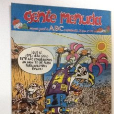 Cómics: GENTE MENUDA SEMANARIO JUVENIL-ABC-1993-N-199. Lote 42285621