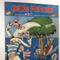 Cómics: GENTE MENUDA SEMANARIO JUVENIL-ABC-1993-Nº202. Lote 42285831