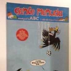 Cómics: GENTE MENUDA SEMANARIO JUVENIL-ABC-1993-Nº203. Lote 42285873