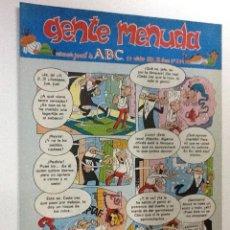 Cómics: GENTE MENUDA SEMANARIO JUVENIL-ABC-1993-Nº204. Lote 42285930