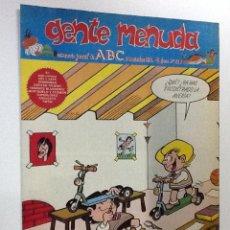Cómics: GENTE MENUDA SEMANARIO JUVENIL-ABC-1993-Nº210. Lote 42286627