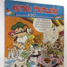Cómics: GENTE MENUDA SEMANARIO JUVENIL-ABC-1993-Nº213. Lote 42287227