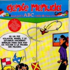 Cómics: GENTE MENUDA Nº 56 ** 09/12/1990 ** SUPLEMENTO DEL ABC. Lote 42367328