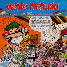 Cómics: GENTE MENUDA Nº 213 ** 12/12/1993 ** SUPLEMENTO DEL ABC. Lote 42371544