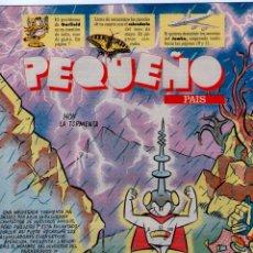 Cómics: PEQUEÑO PAIS Nº 595 ** ABRIL 1993 ** CALENDARIO MAYO * GARFIELD. Lote 42379013