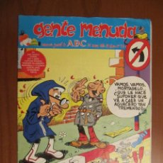 Cómics: GENTE MENUDA. 31 DE MARZO DE 1991. Nº 72. Lote 42391735