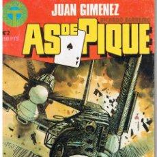 Cómics: AS DE PIQUE. NUMERO 2. JUAN GIMENEZ. CALIDAD EN COMICS.(C/A12). Lote 199371622