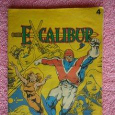 Cómics: LOS COMICS DE EL SOL 4 1990 EXCALIBUR DESPUÉS DE TANTOS AÑOS SIGUE LOCO. Lote 45993713