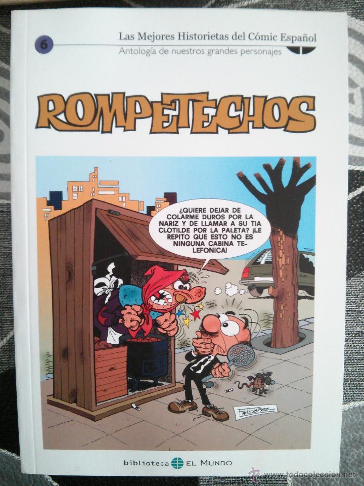 ROMPETECHOS.6. LAS MEJORES HISTORIETAS DEL CÓMIC ESPAÑOL: ANTOLOGÍA DE NUESTROS GRANDES (Tebeos y Comics - Suplementos de Prensa)