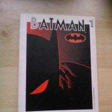 Cómics: GRANDES HÉROES DEL CÓMIC. Nº 5. BATMAN. Nº 1. Lote 47573054
