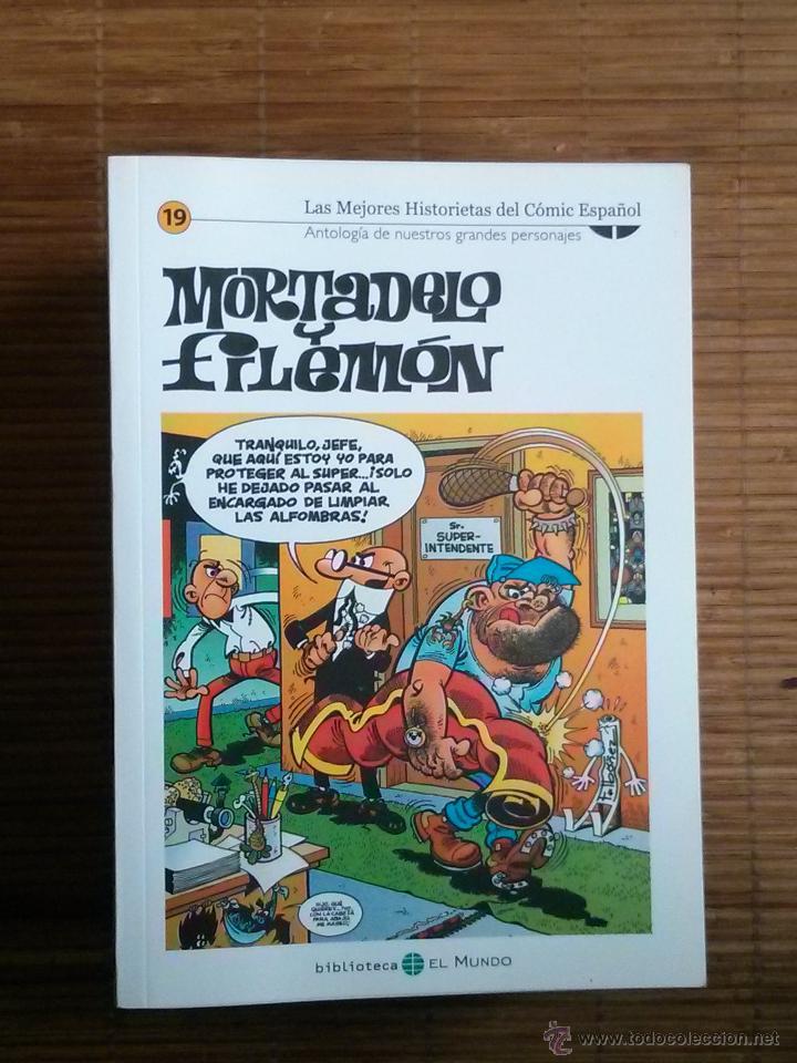 BIBLIOTECA EL MUNDO MORTADELO Y FILEMON 19 (Tebeos y Comics - Suplementos de Prensa)