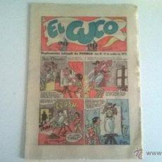 Cómics: EL CUCO, SUPLEMENTO INFANTIL DEL DIARIO PUEBLO, 14 DE OCTUBRE DE 1972. Lote 49360354
