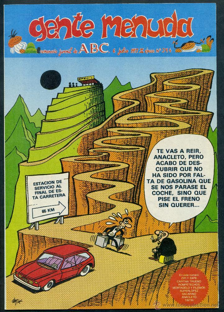 GENTE MENUDA ABC - Nº 394 (Tebeos y Comics - Suplementos de Prensa)