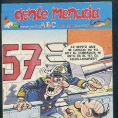 Cómics: GENTE MENUDA ABC - Nº 423. Lote 49898194