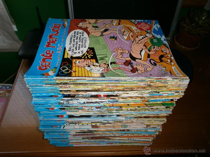 LOTE 333 EJEMPLARES GENTE MENUDA - SEMANARIO JUVENIL DE ABC - III EPOCA - DE 1989 A 1998. (Tebeos y Comics - Suplementos de Prensa)