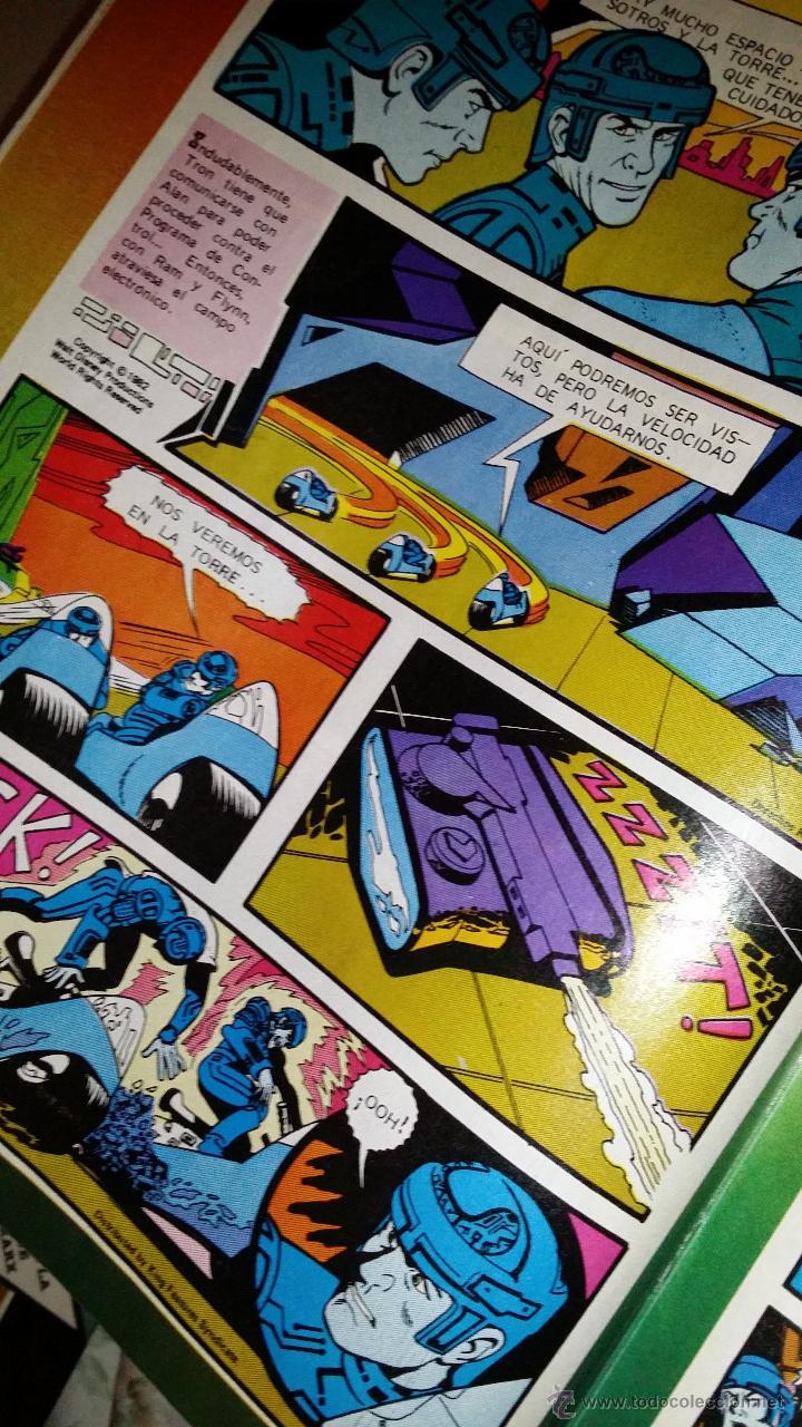 C mics 1983 comic original de tron publicado en el suplemento peque o pais del periodico el