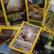 Cómics: LOTE NATIONAL GEOGRAPHIC EN ESPAÑOL AÑO 2011 NUEVAS. Lote 134984341