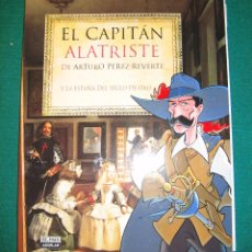 Cómics: A. PÉREZ REVERTE. COMIC ALATRISTE Y 5 MARCAPÁGINAS. Lote 197761955