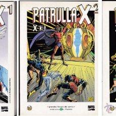 Cómics: X-MEN (LOTE 3 TÍTULOS). GRANDES HÉROES DEL CÓMIC (EL MUNDO). Lote 51784716