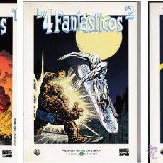 Cómics: 4 FANTÁSTICOS (LOTE 3 TÍTULOS). GRANDES HÉROES DEL CÓMIC (EL MUNDO). Lote 51784779