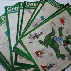 Cómics: GENTE PEQUEÑA DEL 1 AL 14 - SUPLEMENTO DE DIARIO 16 - AÑO 1990. Lote 52810361