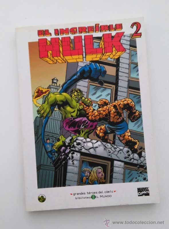 EL INCREIBLE HULK 2, GRANDES HÉROES DEL COMIC CON HULK Y LOS DEFENSORES. (Tebeos y Comics - Suplementos de Prensa)