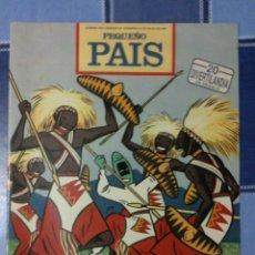 Cómics: COMIC PEQUEÑO PAIS - NUM. 503 AÑO 1991 - OZZO Y LOS ZULÚES. Lote 52963191