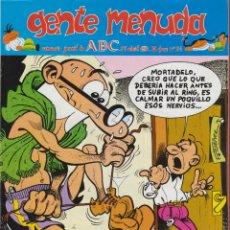 Cómics: MORTADELO Y FILEMON GENTE MENUDA ABC DEL Nº 24 HASTA EL Nº 84 AÑOS 1990 -1 991 60 FASCICULOS*. Lote 53081332