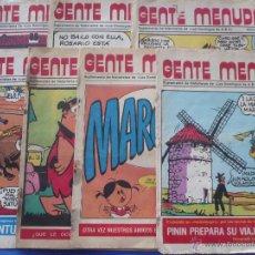 Cómics: LOTE - CÓMICS (7)- GENTE MENUDA ( SUPLEMENTO ABC ) NÚMEROS: 9 -15 -16 - 28 - 33 - 45 - 55. Lote 53112495