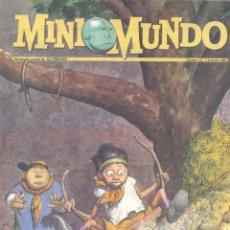 Cómics: MINI MUNDO Nº15. SIR TIM, ANGELITO, REBOLLING STREET, FRANCISCO IBÁÑEZ, JUAN EL LARGO, QUINTIN LERRO. Lote 53556557