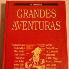 Cómics: GRANDES AVENTURAS - TOMO 1 - ENCUADERNADO - EL PERIODICO. Lote 180441847