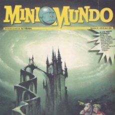 Cómics: MINI MUNDO Nº31. BOULE Y BILL, GATON EL GAFE, CALVIN Y HOBBES, PEPE GOTERA, REBOLLING STREET, LUCKY . Lote 53664165