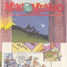 Cómics: MINI MUNDO Nº67. QUINTIN LERROUX, CARLOTA, GASTÓN EL GAFE, JUAN EL LARGO, CALVIN Y HOBBES, BOB.... Lote 53752467