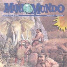 Cómics: MINI MUNDO Nº60. GASTÓN EL GAFE, CARLOTA, JUAN EL LARGO, REBOLLING STREET, CALVIN Y HOBBES, BOB .... Lote 53791090