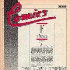 Cómics: COMICS, CLASICOS Y MODERNOS - FASCÍCULO Nº 17 EL PAÍS. Lote 53816606