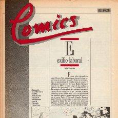Cómics: COMICS, CLASICOS Y MODERNOS - FASCÍCULO Nº 18 EL PAÍS. Lote 53816612