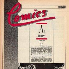 Cómics: COMICS, CLASICOS Y MODERNOS - FASCÍCULO Nº 22 EL PAÍS. Lote 53816623