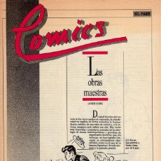 Cómics: COMICS, CLASICOS Y MODERNOS - FASCÍCULO Nº 25 EL PAÍS. Lote 53816637