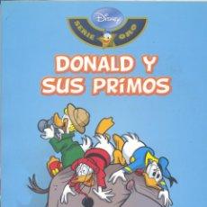Cómics: DONALD Y SUS PRIMOS. DISNEY SERIE ORO 32. BIBLIOTECA EL MUNDO. Lote 54016547