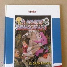 Fumetti: EL HOMBRE ENMASCARADO: EL GRAN TESORO. COLECCIÓN CÓMICS DE EL PAÍS. CARTONÉ.. Lote 54979537
